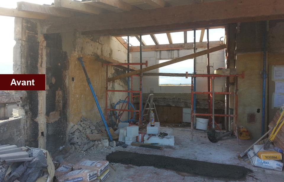 rénovation elevation mtr maconnerie arles-avant